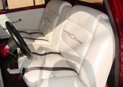 Visions Upholstery The Best on the Island Bitchin Stitchin Chevy Truck Seats Hand Crafted, Custom Designed Interiors